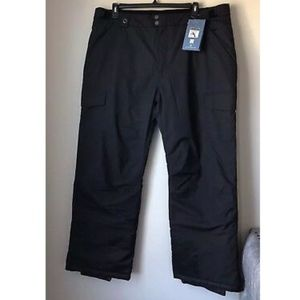 NWT White Sierra Black Wind River Insulated Pant